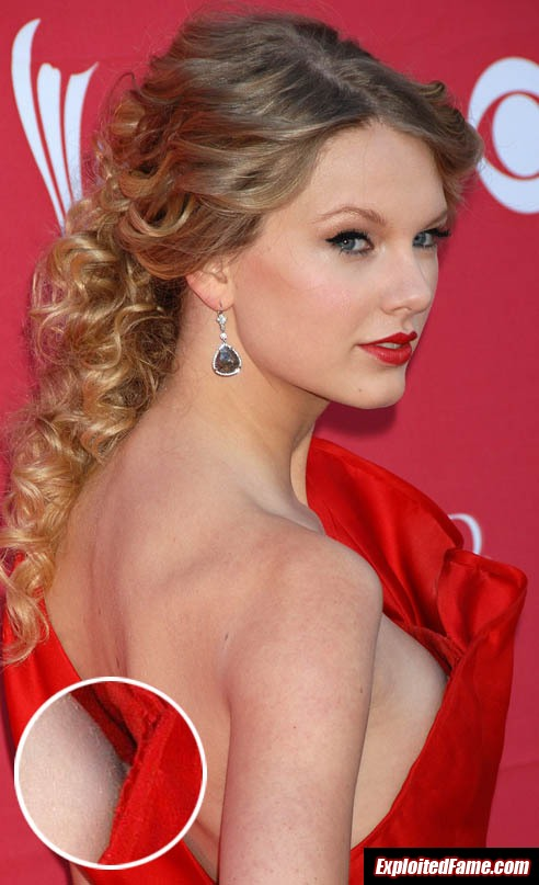 nipple slip taylor swift